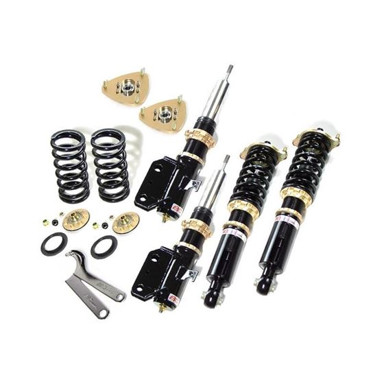 1998-2010 Peugeot 206 BR Series Coilovers with Swi